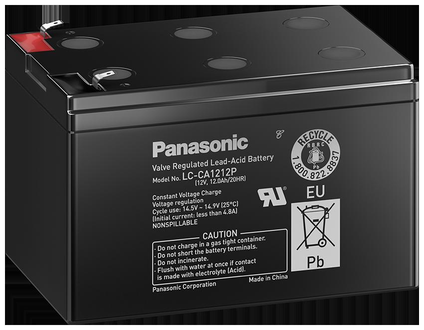 Panasonic blybatteri