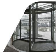 Blybatterier brugt i automatiske dørsystem