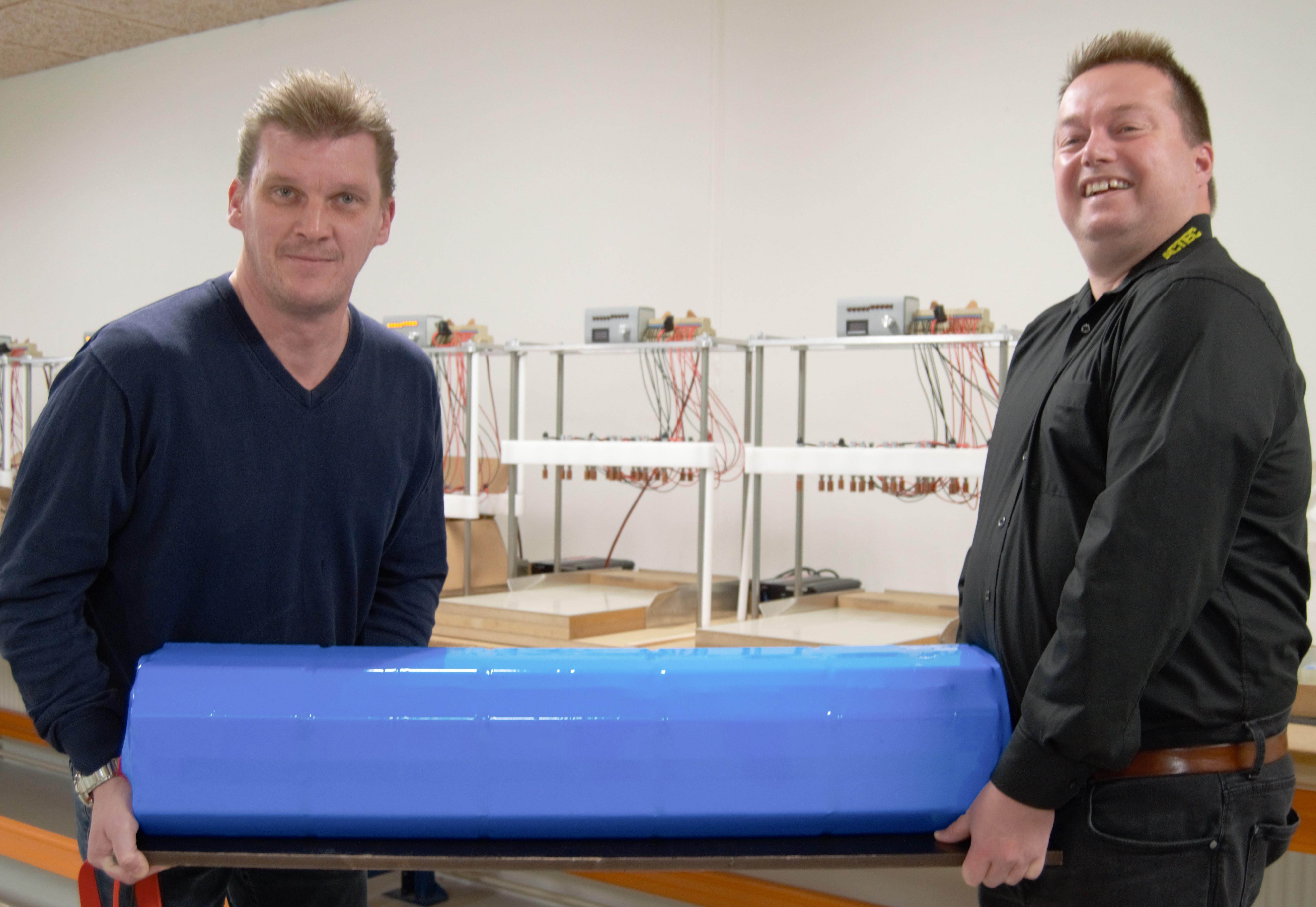 Batteripakke til anvendelse på 6000 meters dybde