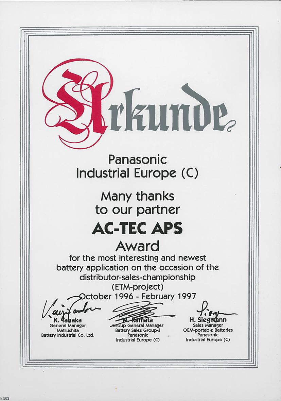 Actec Award