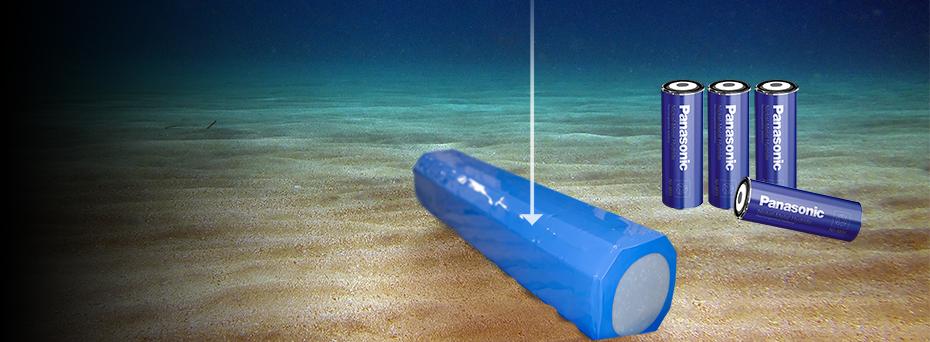 ACTEC leverer batteripakker til anvendelse i op til 6000 meters havdybde