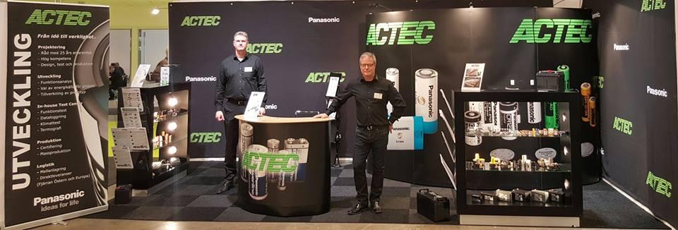 ACTEC på elektronikmesse