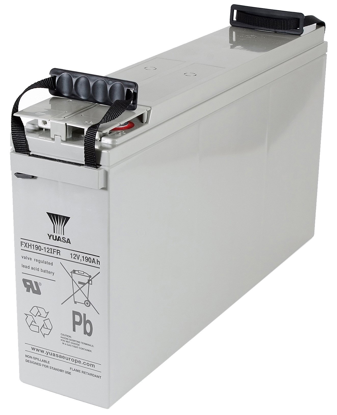 12V/164,6Ah Yuasa Blybatteri FXH140-12IFR