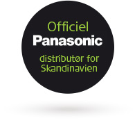 ACTEC Officiel Panasonic distributør