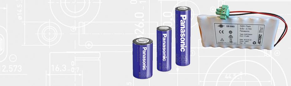 Ekstra lang levetid med Panasonic Ni-MH batterier