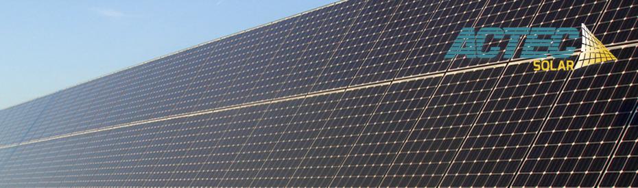 Solceller, solpaneler og solanlæg fra ACTEC Solar