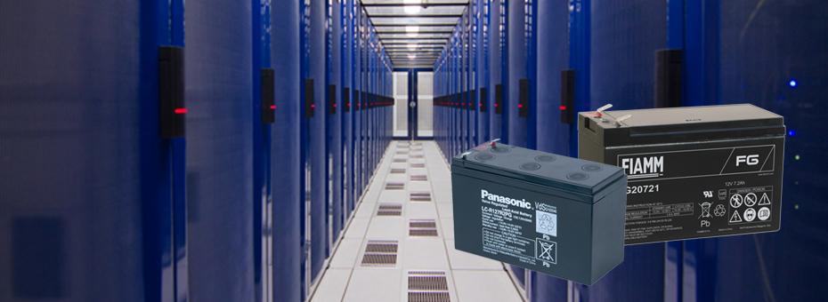 Blybatterier til dørautomatik, UPS-anlæg, nødstrømsanlæg, datacentre og netværksdrift