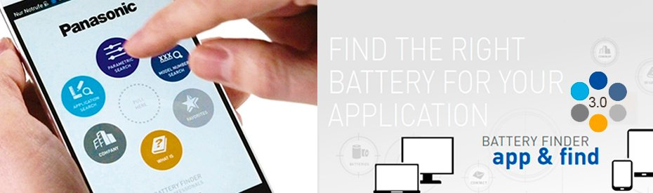"""Battery Finder"" App for industrien"